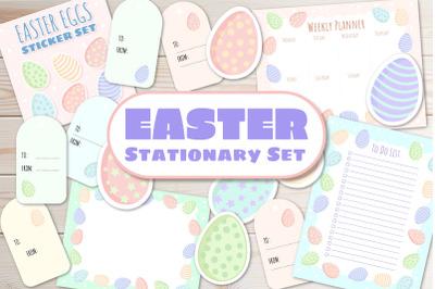 Easter Stationary Set