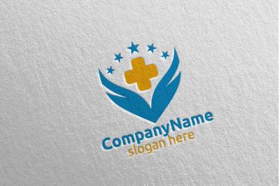 Cross Wings Medical Hospital Logo 36