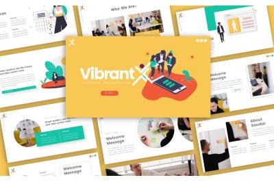 Vibrant Creative Start-up Presentation