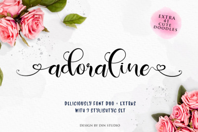 Deliciously Font Duo + Extras