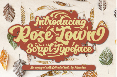 Rose Town Retro Font