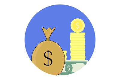 Finance vector icon
