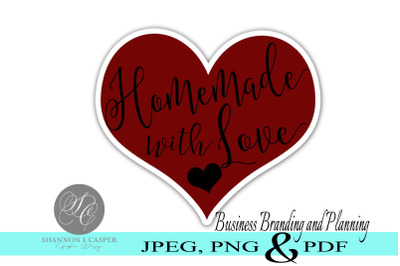 Homemade with Love Printable Labels
