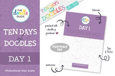 Ten Days of Doodles - Day 01 : Doodle Basics