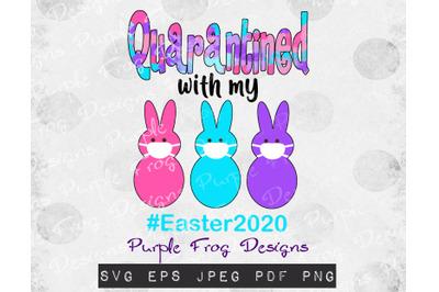 Easter 2020 Quarantine Peeps