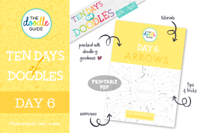 Ten Days of Doodles - Day 06 : Arrows / Connectors