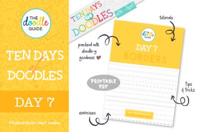 Ten Days of Doodles - Day 07 : Borders