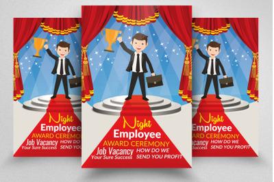 Best Employee Award Night Flyer