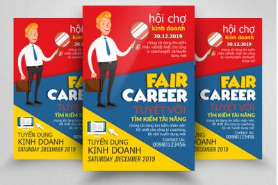 Job Fair & Career Flyer Template