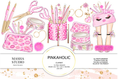 PINKAHOLIC Bonus Clipart