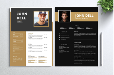 Cv Resume 2 concept bundles MC vol. 3