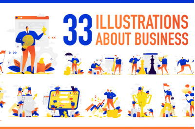 33 illustrations about business!