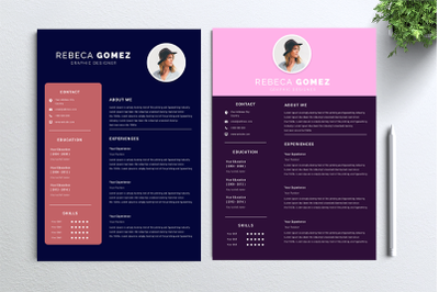Cv Resume 2 concept bundles MC vol. 8