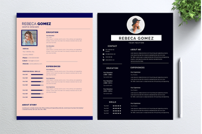 Cv Resume 2 concept bundles MC vol. 9