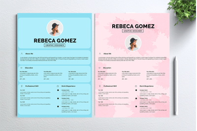 Cv Resume 2 concept bundles MC vol. 11
