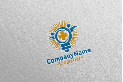 Secure Cross Medical Hospital Logo Design 53