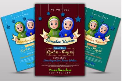 Ramadan Mubarik Flyer