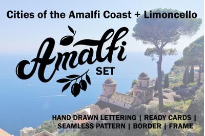 Amalfi Set. Amalfi Coast. Italy