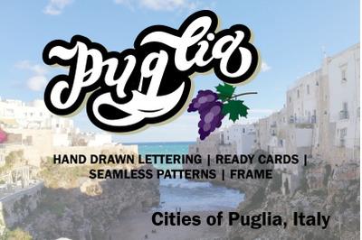 Puglia Set. Puglia Coast. Italy