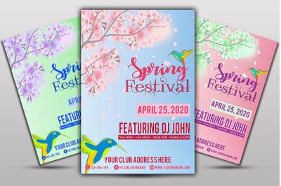 Spring FestivalFlyer