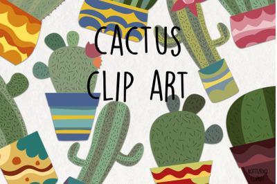Cactus SVG Clipart. Plants digital images.
