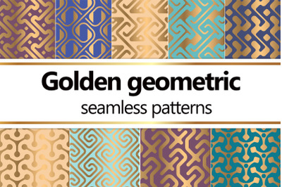Golden Luxury Geometric Patterns
