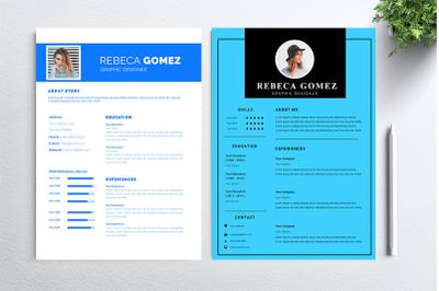 Cv Resume 2 concept bundles MC vol. 27
