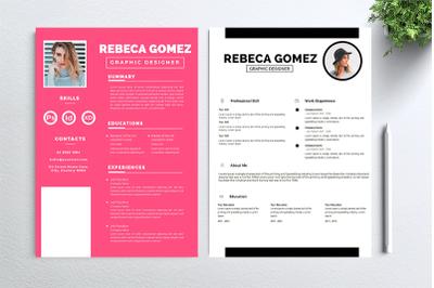 Cv Resume 2 concept bundles MC vol. 28