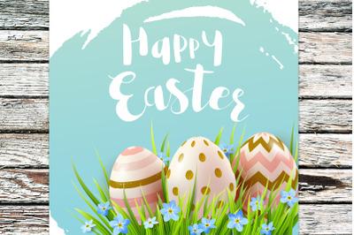 Spring Easter Background