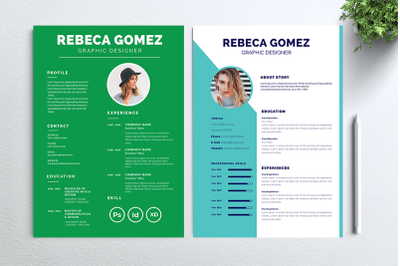 Cv Resume 2 concept bundles MC vol. 36