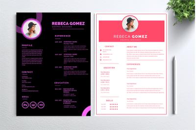 Cv Resume 2 concept bundles MC vol. 39