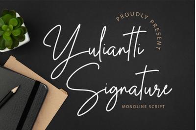 Yuliantti Signature