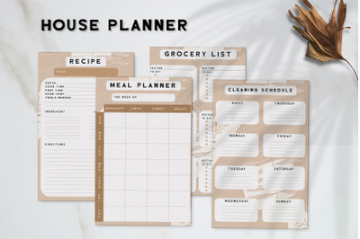 House Planner Template