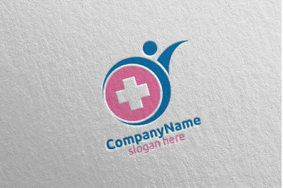 Health Care Medical Hospital Logo 63