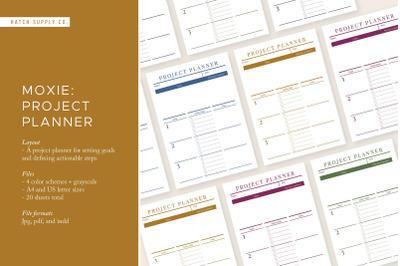 Moxie: Project Planner