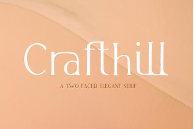 Crafthill. Elegant Serif Font