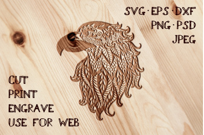 Eagle Template | SVG DXF EPS PSD PNG JPEG