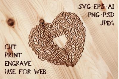 Heart Template | SVG EPS AI PSD PNG JPEG