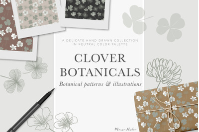 Clover Botanicals - Florals and Leaves