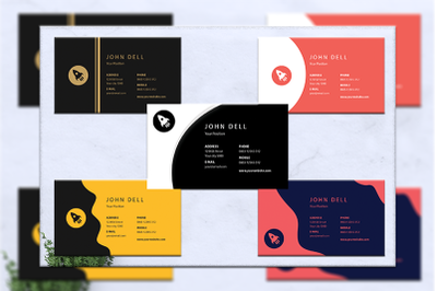 Business card bundles 5 concept vol. 1