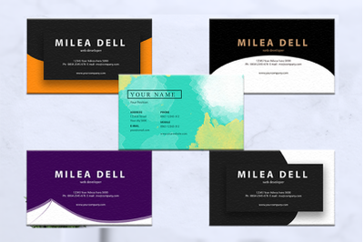 Business cards bundles 5 concept vol. 3