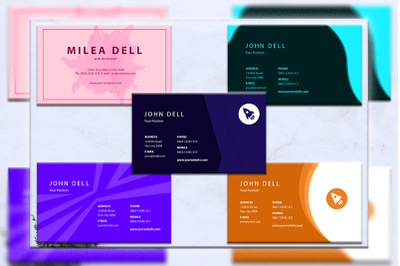 Business cards bundles 5 concept vol. 4