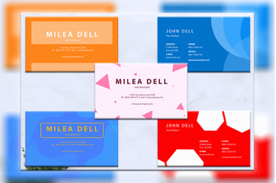 Business cards bundles 5 concept vol. 5