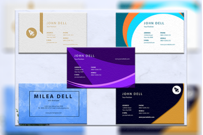 Business cards bundles 5 concept vol. 6