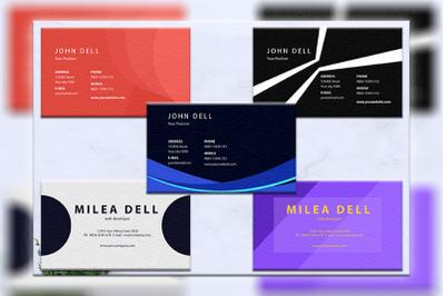 Business cards bundles 5 concept vol. 7