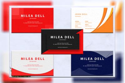 Business cards bundles 5 concept vol. 8
