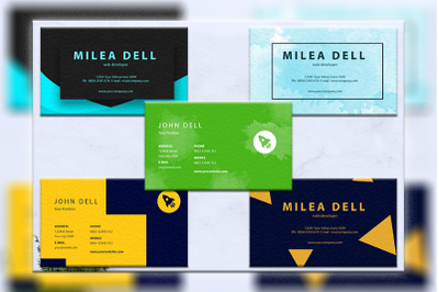 Business cards bundles 5 concept vol. 9