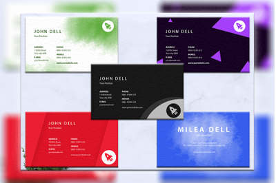 Business cards bundles 5 concept vol. 10