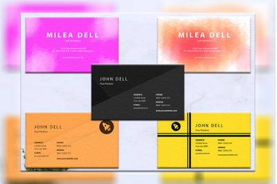 Business cards bundles 5 concept vol. 11