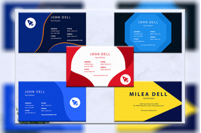 Business cards bundles 5 concept vol. 12